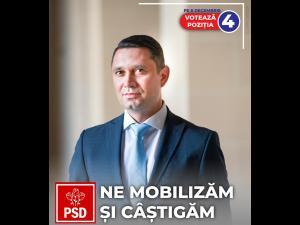 """Mesaj Bogdan Toader, Candidat PSD la Camera Deputaților: """"Este crucial să ieșim cât mai mulți la vot, duminică, pe 6 decembrie!"""""""