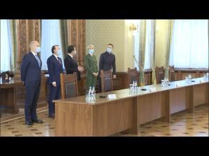 Iulian Dumitrescu a participat la discutiile cu Iohannis cu privire la formarea noului Executiv