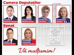 Ei sunt deputatii si senatorii care vor reprezenta PSD Prahova in Parlament