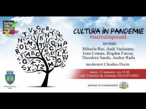 """Cultura in Pandemie"", intalnire inedita cu actori ai teatrului ploiestean"