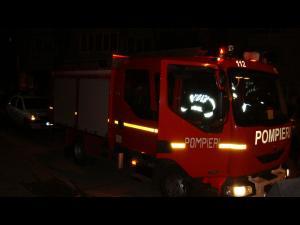 Incendiu violent în Ploiești