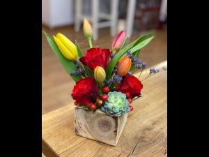(P) Chic Fleuriste, buchete sau aranjamente florale …. chic, de Dragobete