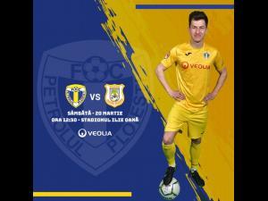 Bilete virtuale pentru meciul cu CS Mioveni