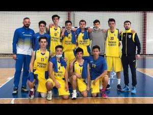 """CSM Ploiești: echipa de baschet băieţi """"U18"""", calificată pentru faza semifinală a campionatului"""