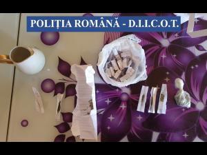 Percheziții în Buzău la persoane bănuite de trafic de droguri/Polițiștii BCCO Ploiești au participat la descinderi