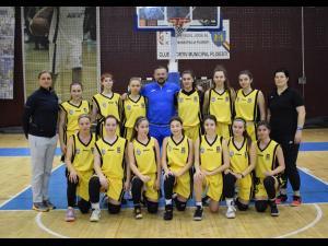 """ECHIPA DE BASCHET FETE """"U16"""" LUPTĂ ÎN CAPITALĂ PENTRU CALIFICAREA LA TURNEUL FINAL"""