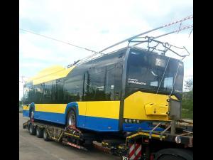 Încă două troleibuze noi au ajuns la Ploiești