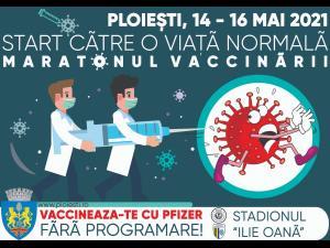 Maraton de vaccinare anti-Covid-19, vineri la Ploiești/Ce tip de vaccin se va folosi