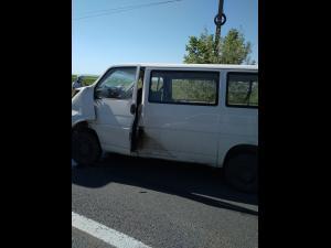 FOTO Un nou accident în zona Bauelemente, DN 72/Două victime sunt inconștiente