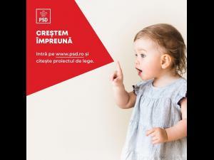 Deputatul PSD Bogdan Toader: PSD lansează în dezbatere publică inițiativa legislativă privind susținerea tinerelor familii cu copii