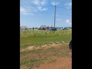 FOTO Accident pe DN1,  în dreptul localității Baicoi, Paralela 45 - UPDATE