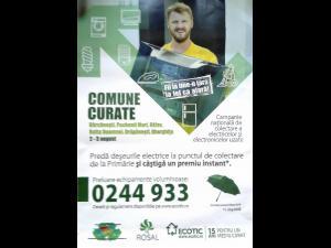 """Campania """"Comune curate"""" ajunge pe 2 si 3 august in Puchenii Mari. Scapa si tu de electrocasnicele uzate si inutile!"""