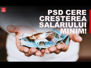Deputatul PSD Bogdan Toader: 1,6 milioane de români au dreptul la creșterea salariului minim!