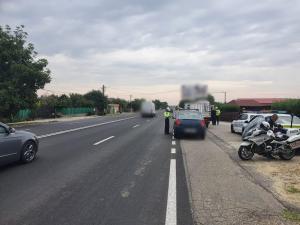 Acțiune poliție în sistem integrat, pe DN 1B, pe raza județelor Prahova și Buzău