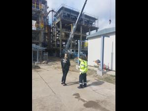 Control Garada de Mediu la Rafinaria Lukoil, in urma incendiului