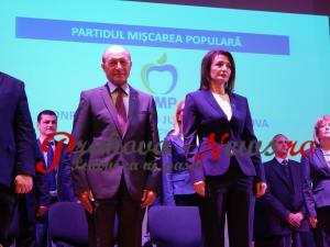 Cătălina Bozianu, realeasă în funcția de președinte al PMP Prahova. Alegerile au avut loc în prezența lui Traian Băsescu, președintele partidului la nivel național – VIDEO/FOTO