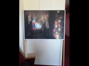 FOTO - Expoziție la Băicoi în care este prezentată importanța Craciunului, a Nașterii Domnului. Organizatorii promit încă o surpriză