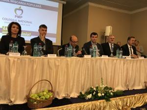 Colegiul Național PMP a avut loc astăzi la Sinaia. Vezi ce spune Traian Basescu despre legile justitiei - VIDEO