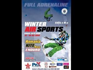 Winter Air Sport, adrenalina si provocare, incepe pe 21 februarie la Sinaia, cota 2000
