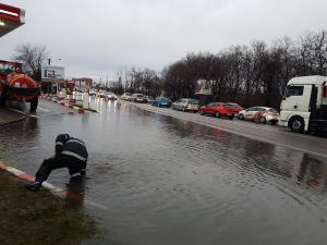 Inundatii la Barcanesti - FOTO
