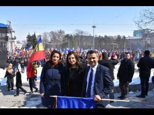 """Deputatul PMP - Catalina Bozianu: """"Marea Adunare Centenară de la Chișinău a fost un moment important pentru mișcarea unionistă de pe ambele maluri ale Prutului, în care PMP este vârf de lance"""""""