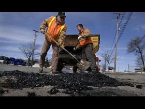 Lucrări de asfaltare în intersecția Cioceanu, pana vineri inclusiv
