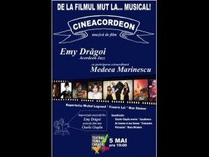 """Concert Cineacordeon, la Teatrul """"Toma Caragiu"""""""