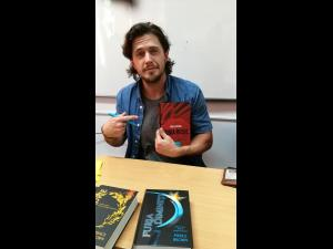 "Autorul bestsellerului internațional ""Furia roșie"" s-a intalnit cu cititorii la Colegiul Nichita Stanescu din Ploiesti - FOTO"