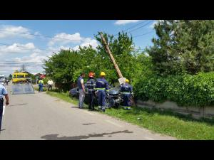 FOTO/VIDEO Accident grav la Maneciu. Patru persoane au fost ranite, dintre care trei copii
