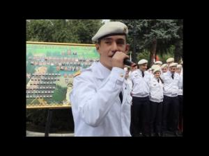 "VIDEO - ""Sunt vagabondul vietii mele"" transformat in ""Sunt absolventul fericit"", la Colegiul Militar din Breaza - FOTO"