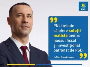 """Iulian Dumitrescu, senator PNL: """"Economia României și bunăstarea românilor sunt amanetate prin măsuri nesustenabile, prin blocarea investițiilor!"""""""