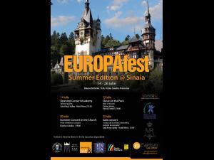 Concerte de  muzică clasică, la Sinaia