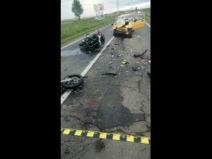 Un politist a murit in urma unui accident rutier