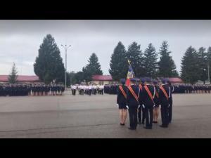 Elevii Scolii de Politie Campina au depus juramantul - VIDEO