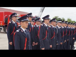 """O nouă promoţie a Şcolii de Subofiţeri de Pompieri şi Protecţie Civilă  """"Pavel Zăgănescu"""" Boldeşti"""