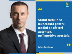 """Iulian Dumitrescu - senator PNL: """"Statul trebuie să creeze condiții favorabile dezvoltării mediul de afaceri din România"""""""