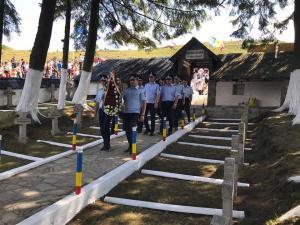 Eroii căzuți în luptele din Primul Război Mondial, comemorati la Tabla Butii
