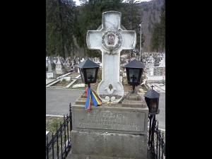 Badea Cârțan a murit pe 7 august 1911. Mormantul sau este la Sinaia