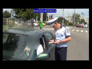 Razie a Politiei Rutiere, in Ploiesti