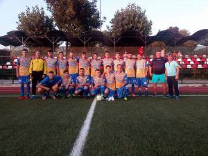 Primul meci de fotbal, in Comarnic, pe terenul orașului, după aproape un sfert de secol!