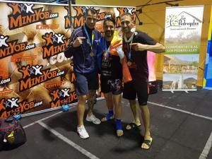 Un ploiestean, aur la Europen Championship kickboxing!