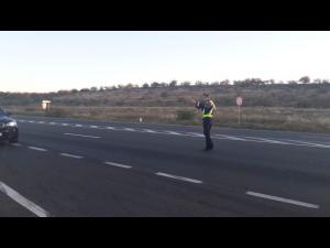 Atentie, soferi! Razie pe DN1, politistii folosesc si aparatul de măsurare al vitezei TruCam