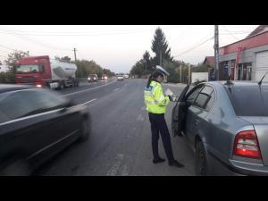 Actiune rutiera in derulare pe DN 1 B, in Prahova