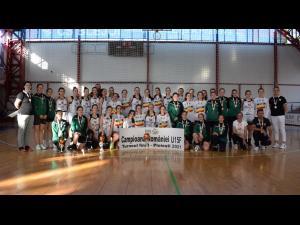 Echipa de baschet fete U15 a CSM Ploieşti este vicecampioană națională