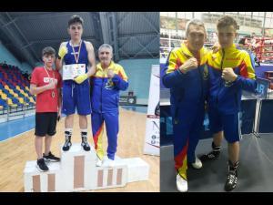Boxerul ploieștean Valentin Bîrzan, medaliat cu aur la Cupa României pentru Juniori