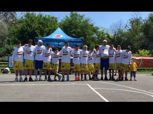 """Echipa de baschet băieţi """"U12"""" a CSM Ploieşti este campioană naţională"""
