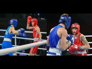 Boxerii Iulian Dumitrescu şi Marian Ghinoiu, în pregătiri pentru Campionatul European de Tineret