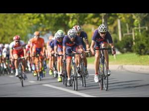 Turul ciclist al României/Când ajung sportivii în Prahova
