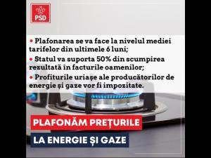 """Bogdan Toader: """"PSD propune plafonarea prețurilor la gaze și energie electrică, dar Cîțu se mai gândește!"""""""