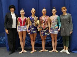Gimnastele de la CSM Ploieşti, vicecampioane naţionale de senioare